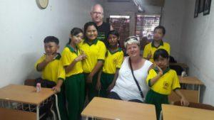 Het schoolproject is succesvol, al 7 kids in de bus!